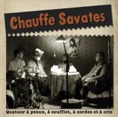 Création plaquette de présentation de Chauffe Savates, groupe musical