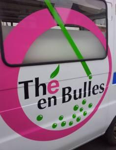Fourgon Thé en Bulles