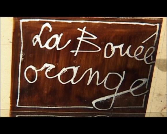 La bouée orange