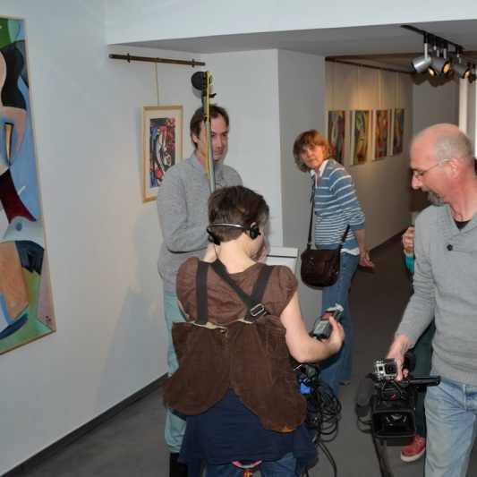 Tournage Galerie ABC